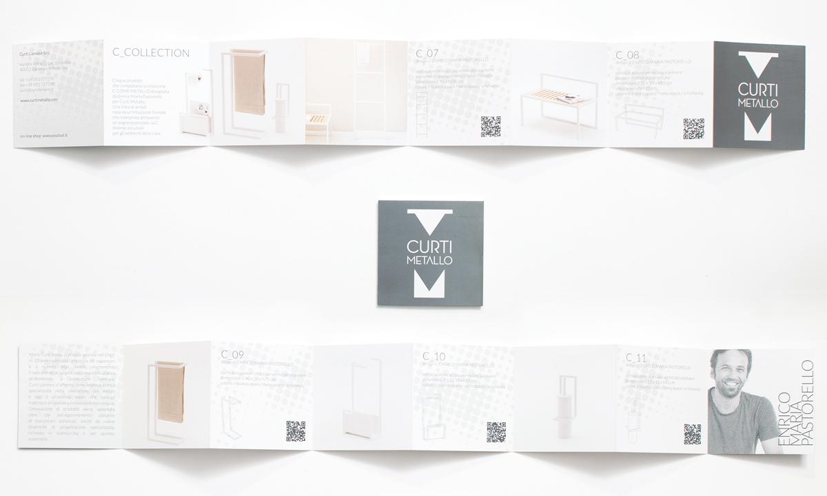pieghevole C_collection di Enrico Maria Pastorello