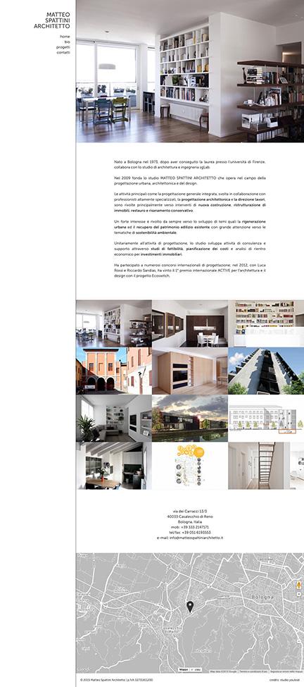 matteo spattini home page