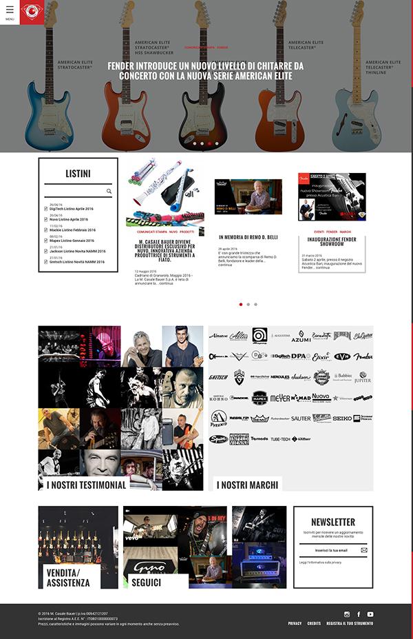 M. Casale Bauer   Importazione e distribuzione di strumenti musicali